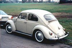 Mein VW Rechteckkäfer Baujahr 1960